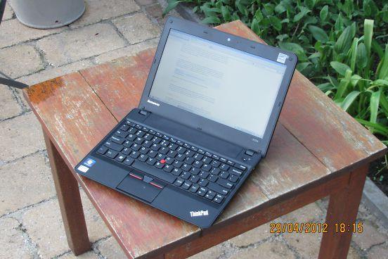 Slackware Linux on a Lenovo ThinkPad X121e